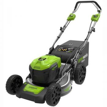 GREENWORKS 40v Digi-Pro 46cm SELF DRIVE Li-ion MOWER